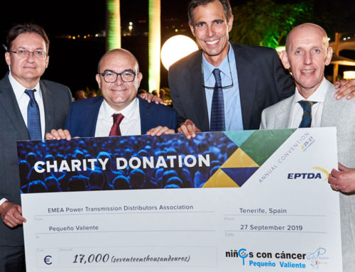 EPTDA donates €17,000 to a local Tenerife charity on its Annual Convention