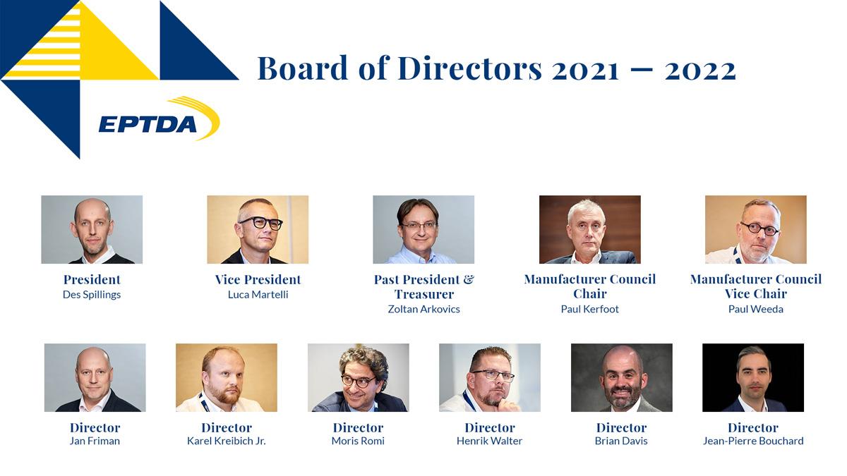 2021 - 2022 Board of Directors